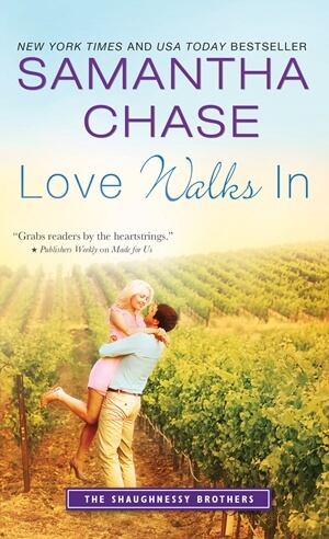 LOVE WALKS IN by Samantha Chase: Review, Excerpt & Giveaway