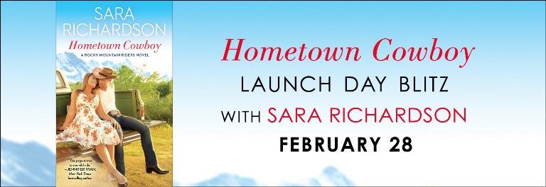 HOMETOWN COWBOY by Sara Richardson: Release Blitz