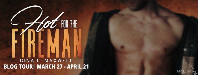 HOT FOR THE FIREMAN by Gina L. Maxwell: Review & Giveaway