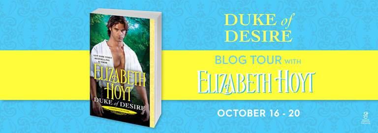 DUKE OF DESIRE by Elizabeth Hoyt: Release Spotlight, Excerpt & Giveaway