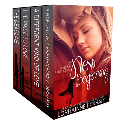 THE FRIESSENS: A NEW BEGINNING (#1 – 4) by Lorhainne Eckhart – Book Blitz