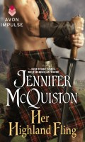 HER HIGHLAND FLING by Jennifer McQuiston: Excerpt & Giveaway