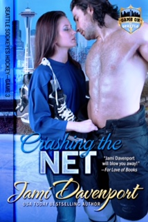 CRASHING THE NET by Jami Davenport: Excerpt & Giveaway