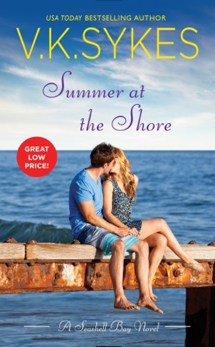 SUMMER AT THE SHORE by V.K. Sykes: Review & Giveaway