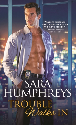 TROUBLE WALKS IN by Sara Humphreys: Review, Excerpt & Giveaway