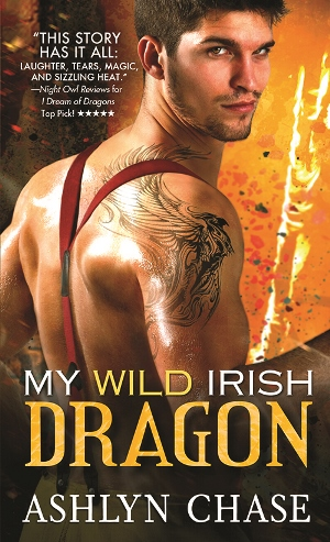 MY WILD IRISH DRAGON by Ashlyn Chase: Excerpt & Giveaway