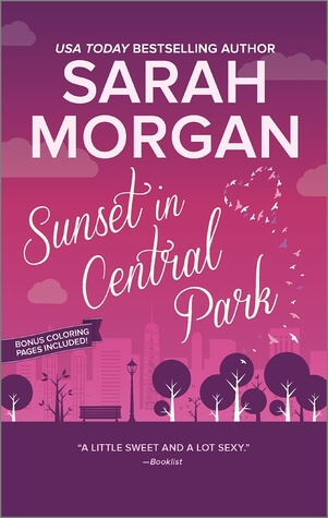 SUNSET IN CENTRAL PARK by Sarah Morgan: Review & Giveaway