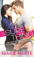 A SURE THING by Marie Harte: Release Spotlight, Excerpt & Giveaway