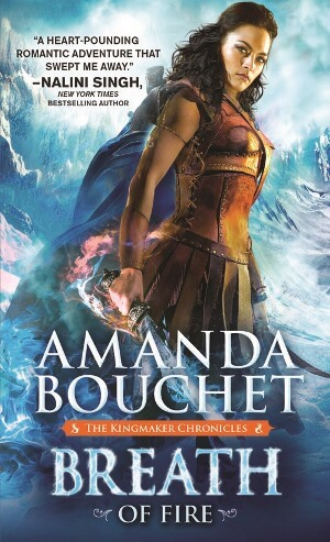 BREATH OF FIRE by Amanda Bouchet: Spotlight, Excerpt & Giveaway