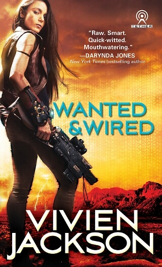 WANTED AND WIRED by Vivien Jackson: Excerpt & Giveaway