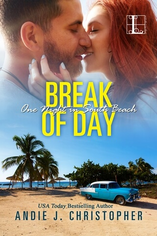 BREAK OF DAY by Andie J. Christopher: Excerpt & Giveaway