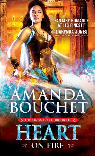 HEART ON FIRE by Amanda Bouchet: Spotlight, Excerpt & Giveaway