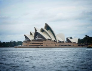 Opera House during the day (shot from cruise boat)