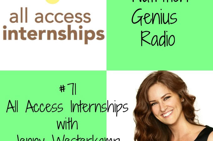 All Access Internships with Jenny Westerkamp (Podcast)