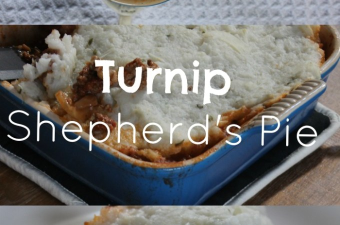 Turnip Shepherd's Pie