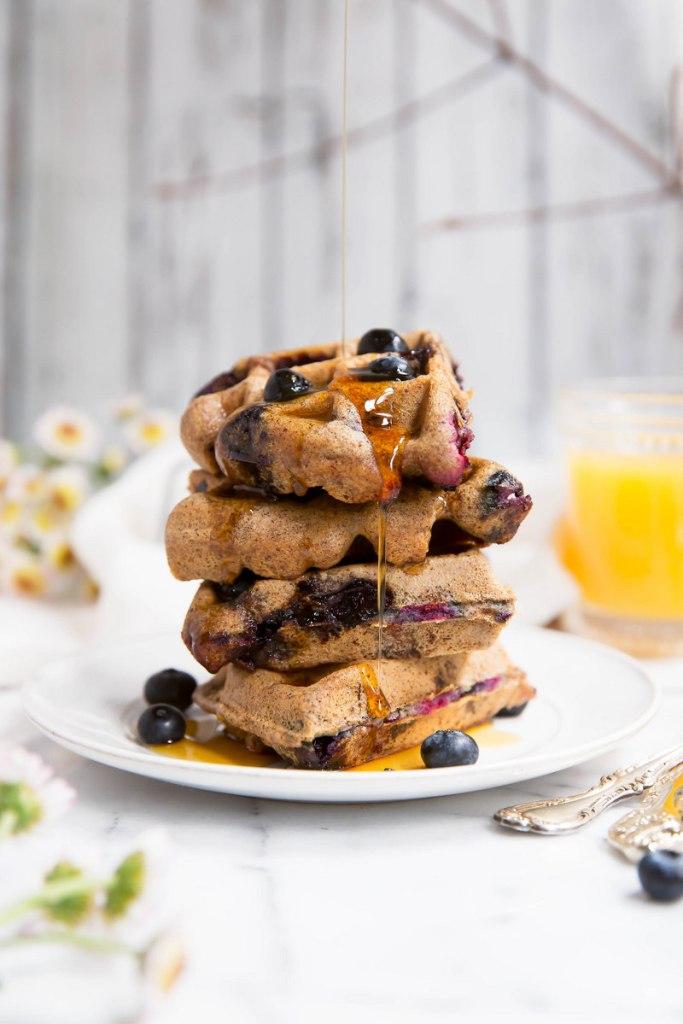 Almond-Butter-Blueberry-Waffles-32