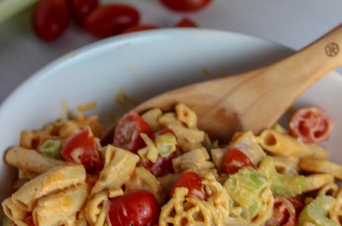 Gluten-Free Buffalo Pasta Salad