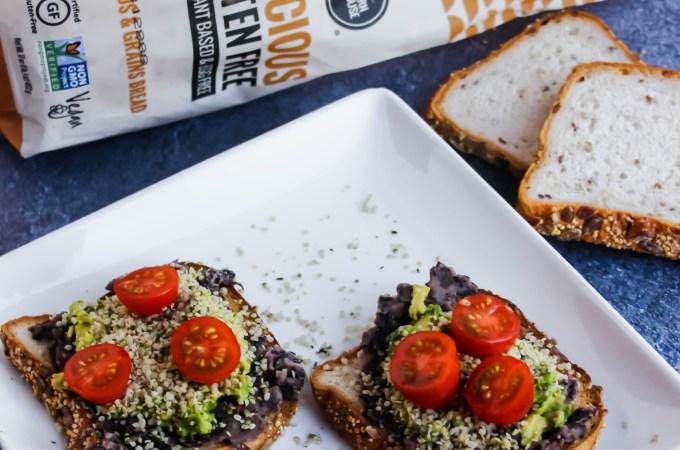 Gluten-Free Black Bean Avocado Toast