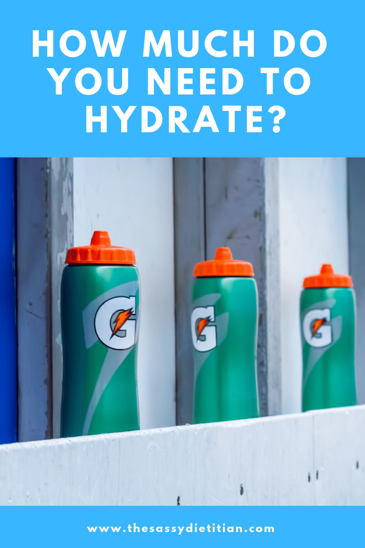 how much do you need to hydrate