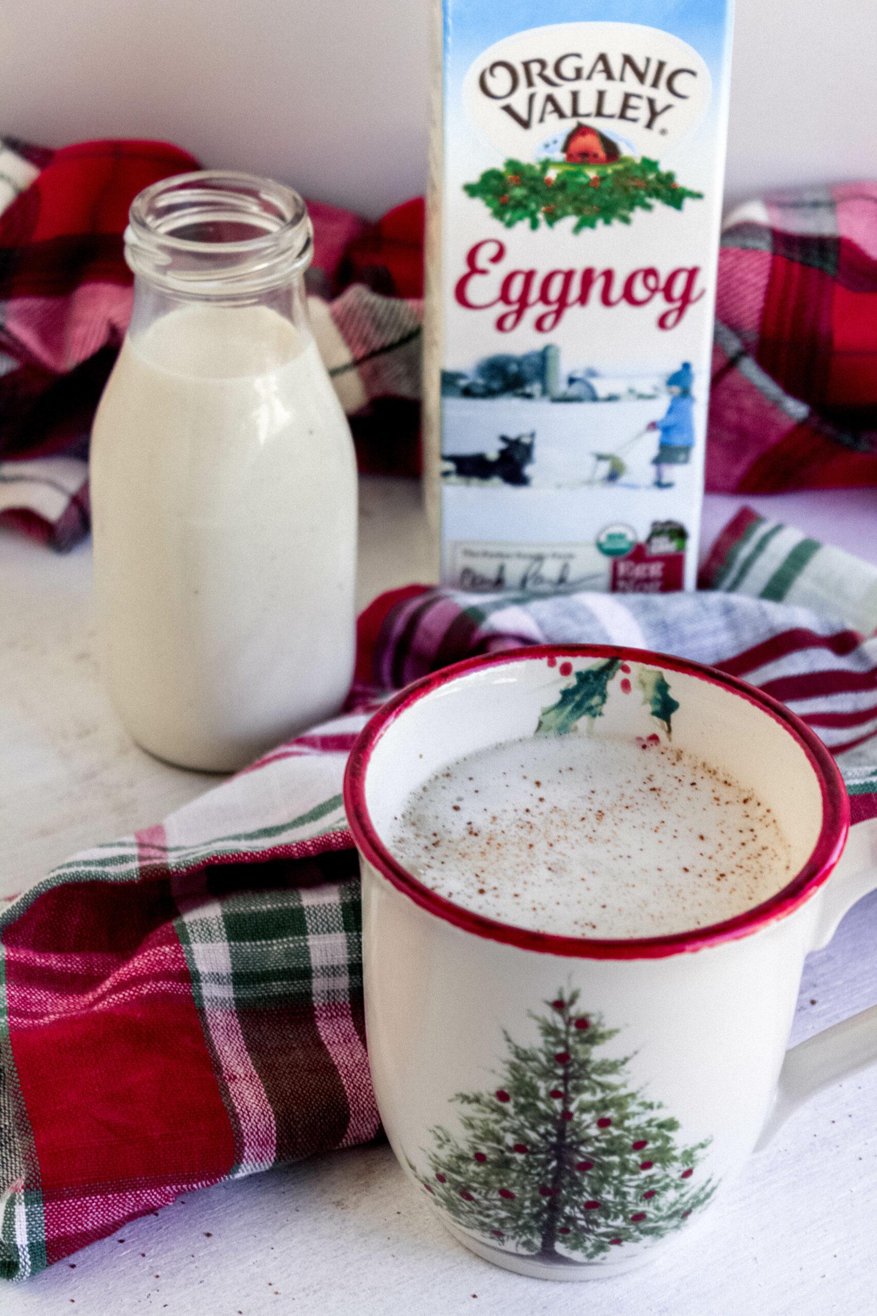 egg nog latte
