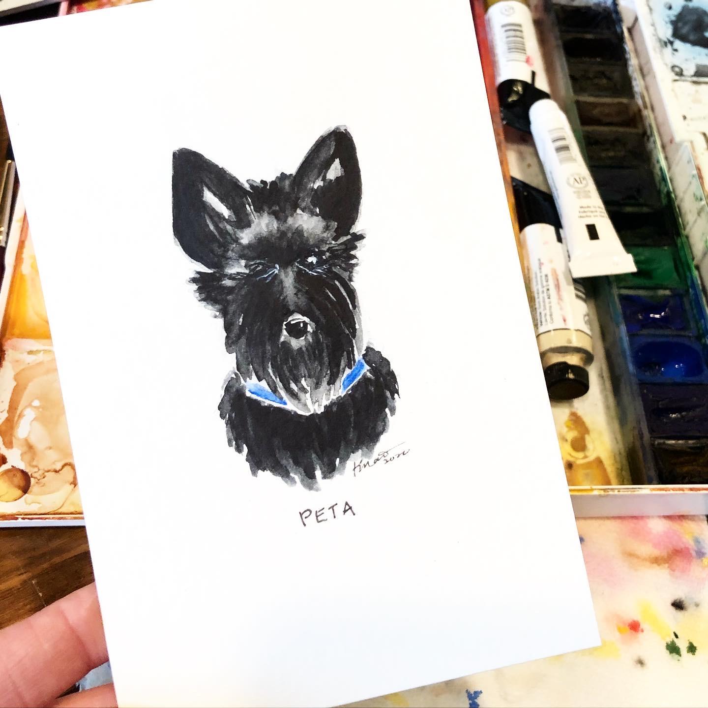 Dog Portrait for a friend