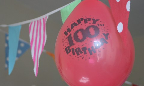 Gran's 100th Birthday