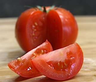 Chicago Style Hot Dog Tomatoes