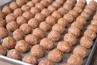 grill meatballs recipe