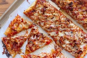Pork Puff Pizza Recipe