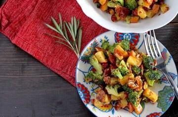 Grilled Broccoli Salad Recipe