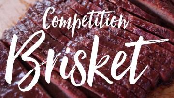 Competition Style Brisket Recipe