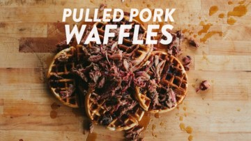 Pulled Pork Waffles Recipe