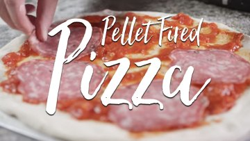 Wood Pellet Fired Pizza Recipe
