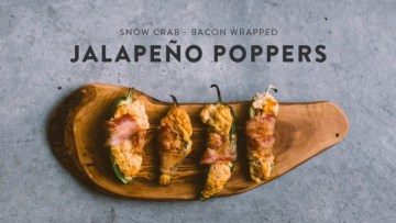 Snow Crab Jalapeño Poppers Recipe
