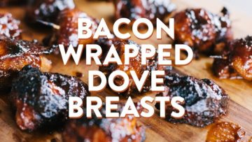 Bacon Wrapped Dove Breasts Recipe