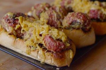 bratwurst meatball sub recipe