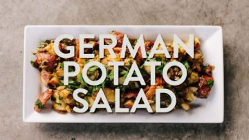 German Potato Salad Recipe