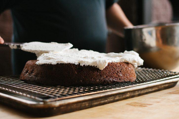 Black Forest Skillet Cake