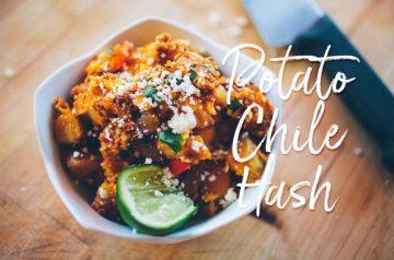 Potato Chile Hash Recipe