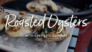 Roasted Oysters Recipe on Kamado Joe Classic II