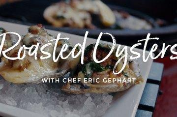 Roasted Oysters Recipe on Kamado Joe Classic II