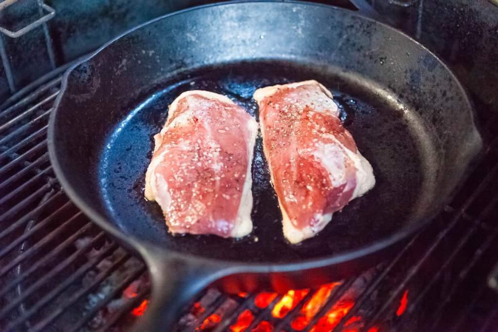 Duck a l'Orange on the Grill Recipe