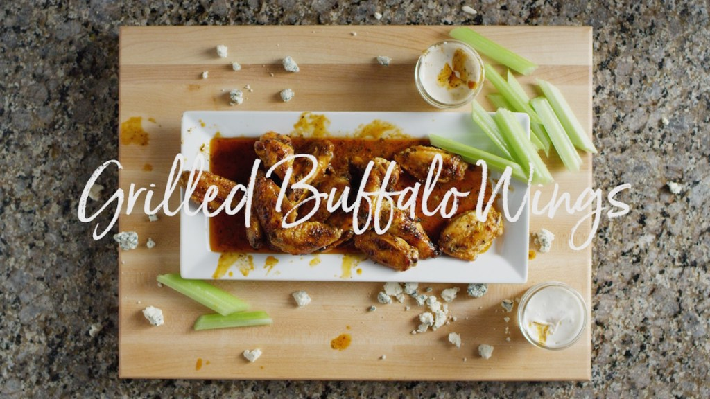 Grilled Buffalo Wings Recipe