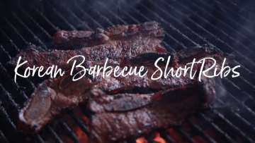 Korean Barbecue Short Ribs