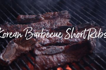 Korean Barbecue Short Ribs