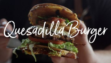 Quesadilla Burger Recipe