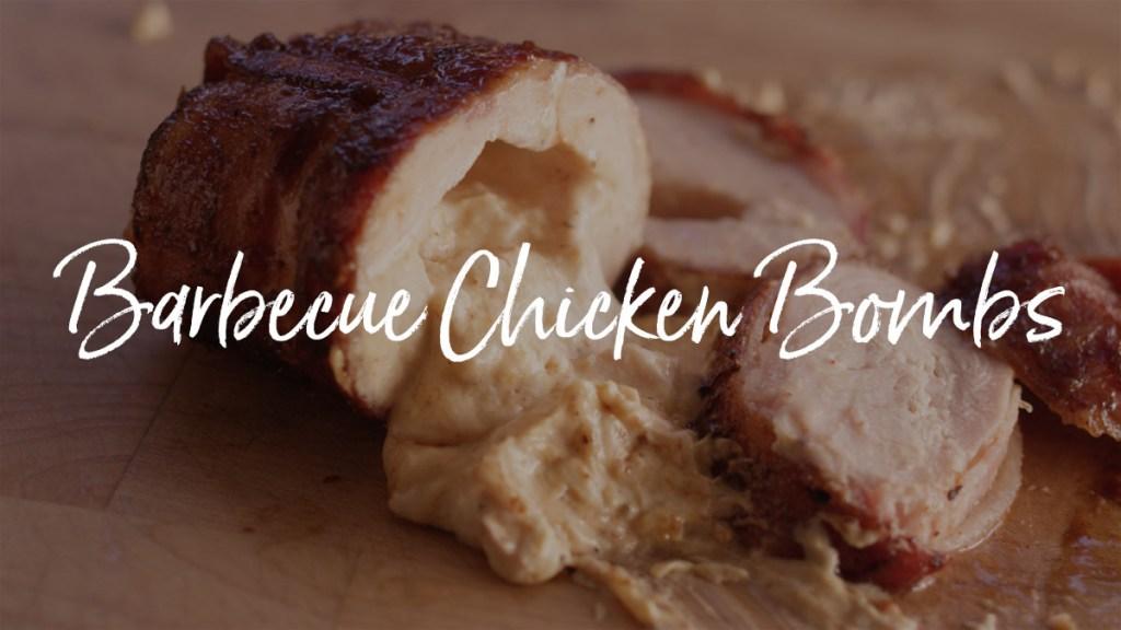 Barbecue Chicken Bombs Recipe