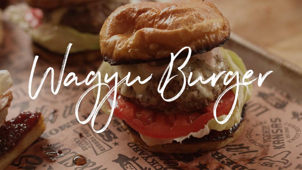 Wagyu Burger Recipe