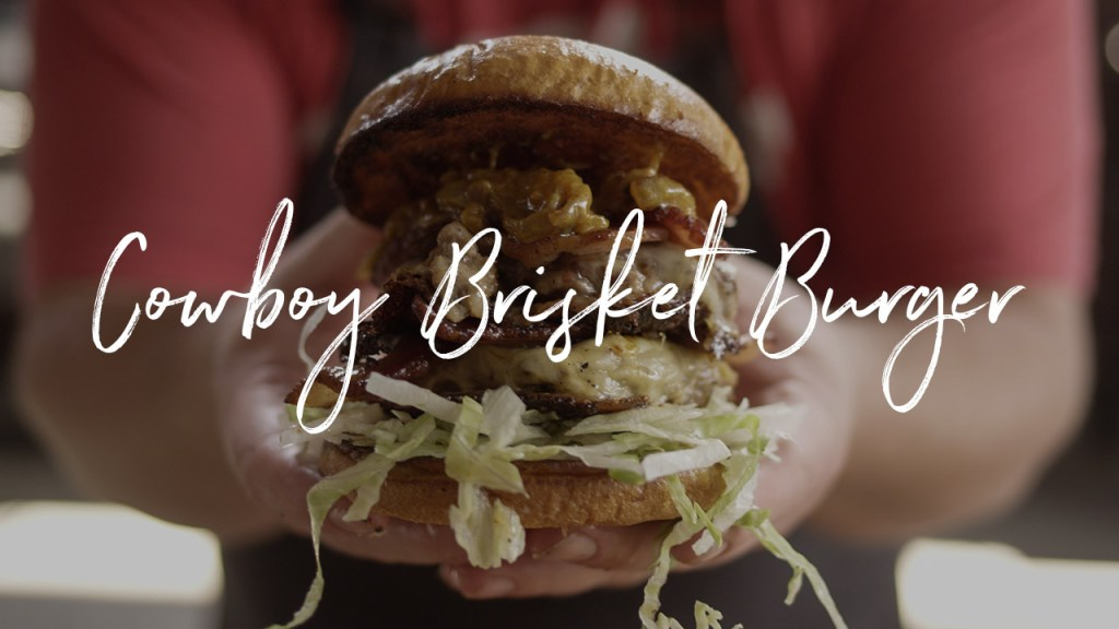 Cowboy Brisket Burger Recipe