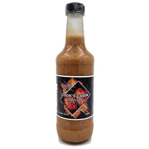 Double burn hot sauce